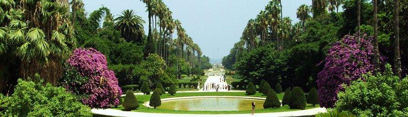 Mostaganem - Espaces verts, plantations d'alignement
