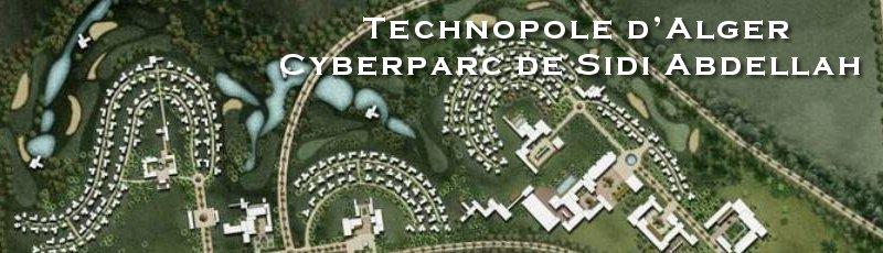 Alger - Technopole d'Alger : Cyberparc de Sidi Abdellah
