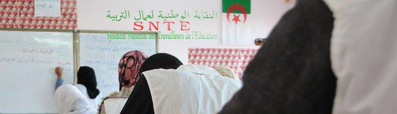 Sétif - SNTE : Syndicat national des travailleurs de l'éducation