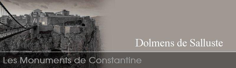 Constantine - Dolmens de Salluste