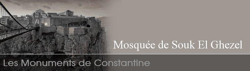 Constantine - Mosquée de Souk El Ghezel (ex Cathédrale) Constantine