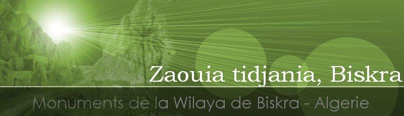 بسكرة - Zaouia tidjania, Biskra