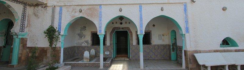 Tipaza - Mausolée de Sidi Braham Al Ghobrini(Commune de Cherchell, Wilaya de Tipaza)