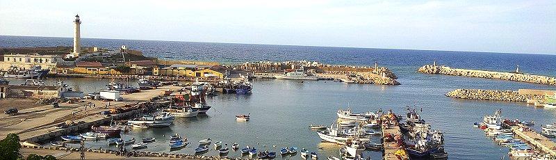 Tipaza - Port de Cherchell(Commune de Cherchell, Wilaya de Tipaza)