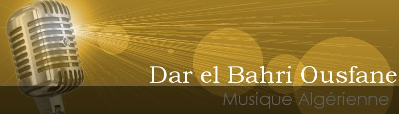 Algérie - Dar El Bahri Ousfane