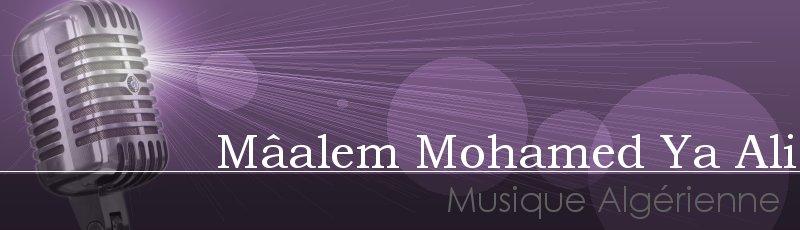 Saida - Mâalem Mohamed Ya Ali