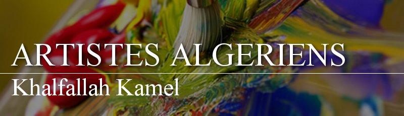 Algérie - Khalfallah Kamel