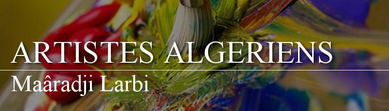 Algérie - Maâradji Larbi