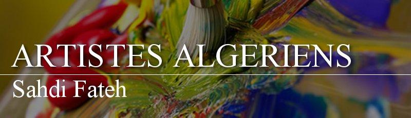 Algérie - Sahdi Fateh