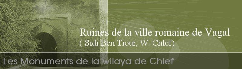 Chlef - Ruines de la ville romaine de Vagal ( Sidi Ben Tiour, W. Chlef)