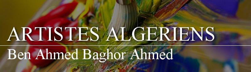 Algérie - Ben Ahmed Baghor Ahmed