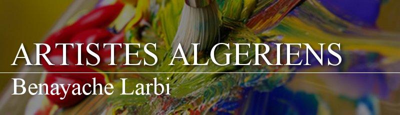Algérie - Benayache Larbi
