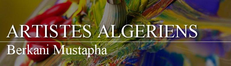 Algérie - Berkani Mustapha