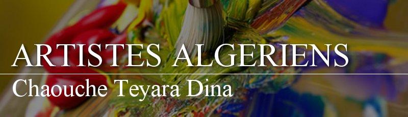 Algérie - Chaouche Teyara Dina