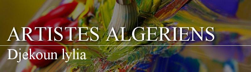 Algérie - Djekoun lylia