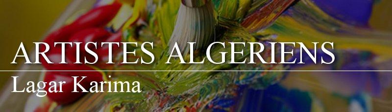 Algérie - Lagar Karima