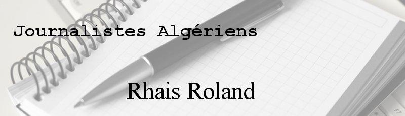 Algérie - Rhais Roland