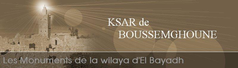 El-Bayadh - Ksar Boussemghoune (W. El Bayadh)