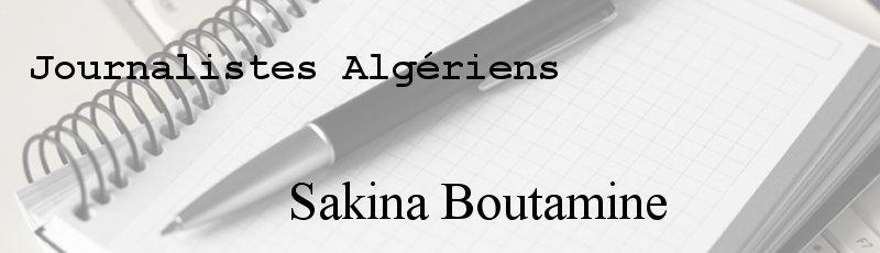 Algérie - Sakina Boutamine