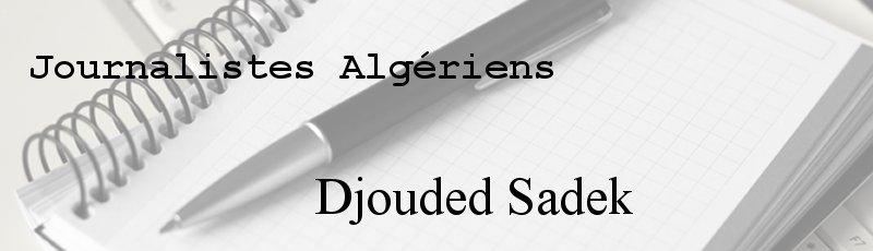 Algérie - Djouded Sadek