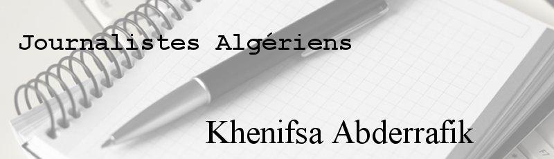 Algérie - Khenifsa Abderrafik