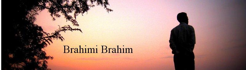 Bouira - Brahimi Brahim