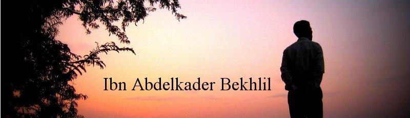 عين الدفلى - Ibn Abdelkader Bekhlil