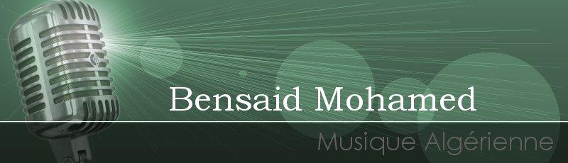 Tlemcen - Bensaid Mohamed