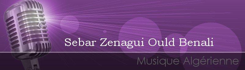 Tlemcen - Sebar Zenagui Ould Benali