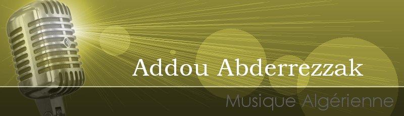Tlemcen - Addou Abderrezzak