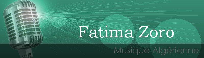 غليزان - Fatima Zoro