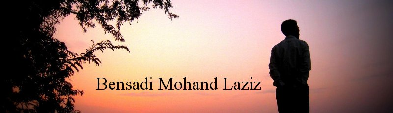 Algérie - Bensadi Mohand Laziz