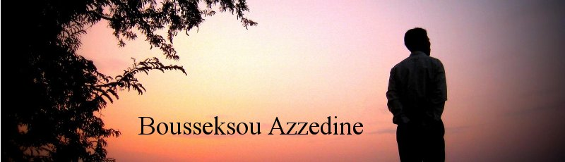 Alger - Bousseksou Azzedine