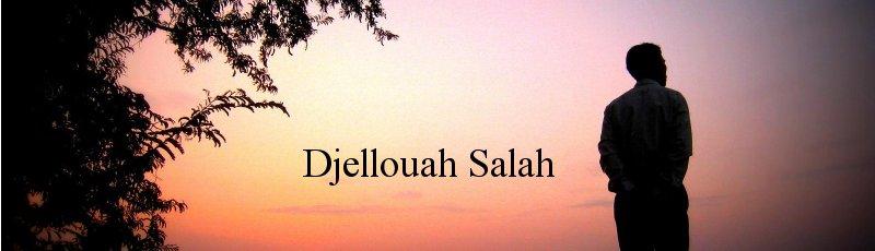 Algérie - Djellouah Salah