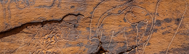 Laghouat - Gravures rupestres d'El Ghicha (Wilaya de Laghouat)