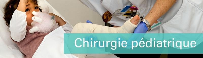 عين الدفلى - Chirurgie pédiatrique (infantile, CCI)
