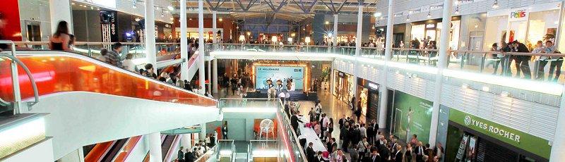 ورقلة - Centres de commerce, Marchés