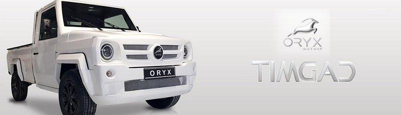 Tiaret - Oryx Motors