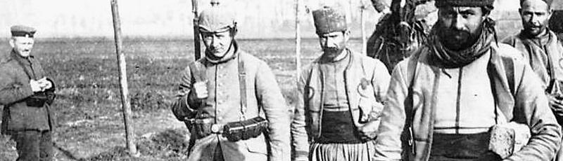 Béjaia - Anciens combattants algeriens de la premiere guerre mondiale