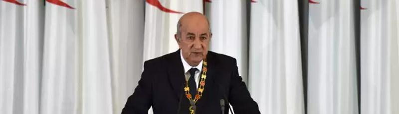 Algérie - 08- La présidence d'Abdelmadjid Tebboune