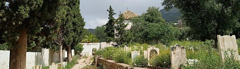 Tlemcen - Cimetière Sidi Senouci (Commune de Tlemcen, Wilaya de Tlemcen)