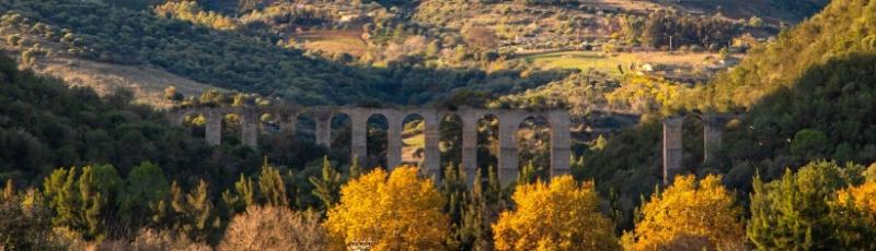 Tipaza - Aqueduc maurétanien de Cherchell ou Aqueduc Chabet Ilelouine(Commune de Sidi Amar, Wilaya de Tipaza