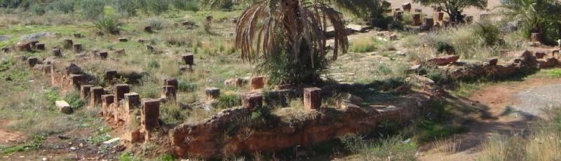 Mila - Vestiges de la source thermale de Beni Guecha(Commune de Yahia Beni Guecha, Wilaya de Mila)