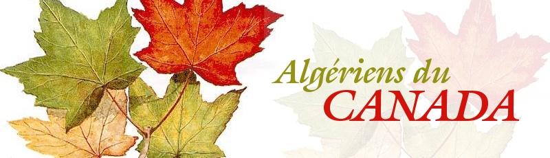 Toute l'Algérie - Algériens au Canada