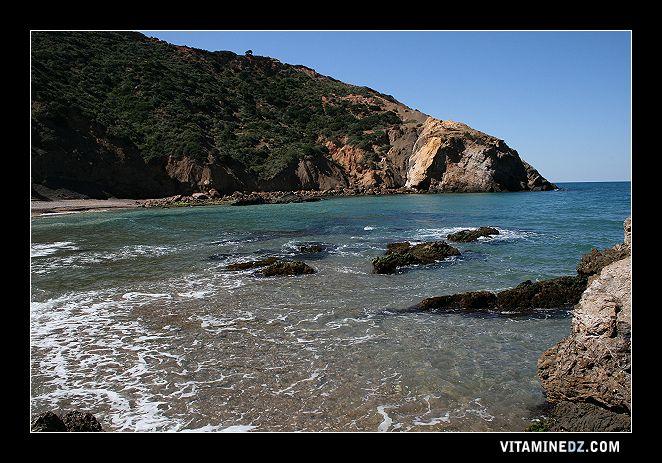 شواطئ وحمامات عين تموشنت 510-plage-de-ouardania-rive-gauche