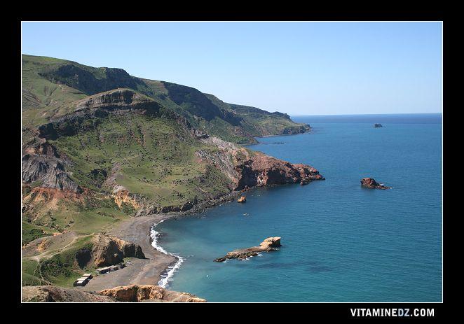 شواطئ وحمامات عين تموشنت 526-la-plage-sauvage-de-timlahine-a-cote-de-zouanif-et
