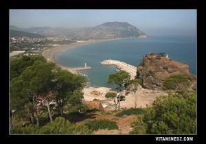 Beni Haoua, le Port, La plage