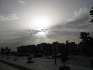 الشارع الرئيسي لمدينة تيسمسيلت