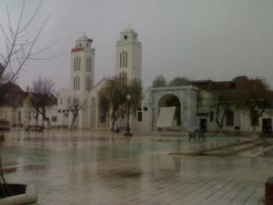 منظر من مسجد بلال ابن رابح