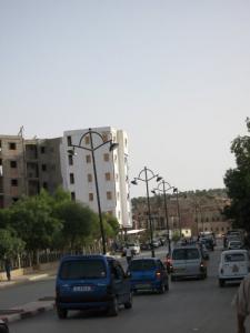 الشوارع الرئيسية لمدينة تيسمسيلت